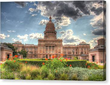 Capitol Canvas Print by Andrew Nourse