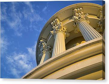 Capitol Columns Canvas Print