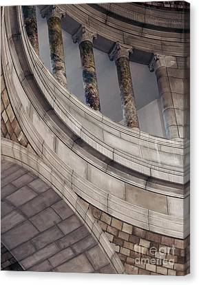 Capitol Curves Canvas Print by Art Whitton