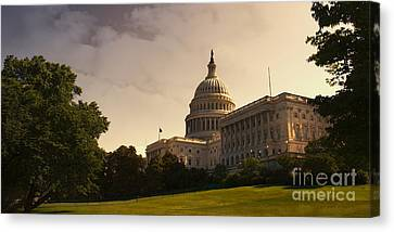 Symbolically Canvas Print - Capitol Dome Panoramic by Tom Gari Gallery-Three-Photography