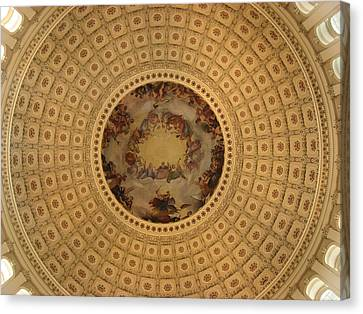 Capitol Dome Canvas Print by Paul Thomas