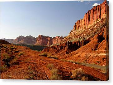 Capitol Reef At Dusk Canvas Print
