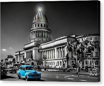 Capitolio Canvas Print by Patrick Boening