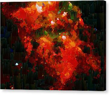 Capixart Abstract 03 Canvas Print by Chris Axford