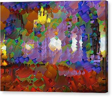 Capixart Abstract 09 Canvas Print by Chris Axford