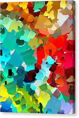 Capixart Abstract 21 Canvas Print by Chris Axford