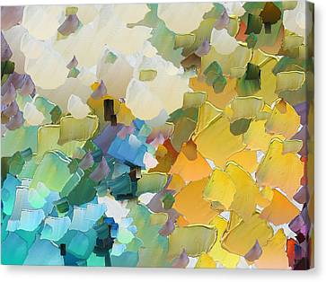 Capixart Abstract 29 Canvas Print by Chris Axford