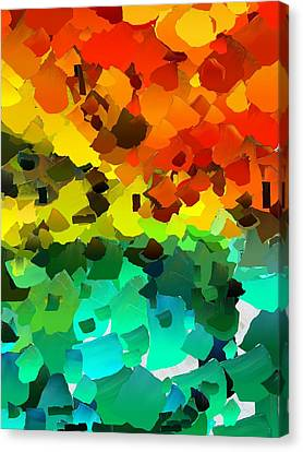 Capixart Abstract 35 Canvas Print by Chris Axford