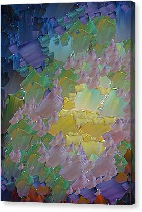 Capixart Abstract 41 Canvas Print by Chris Axford