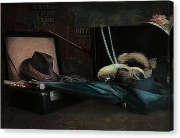 Capone Canvas Print