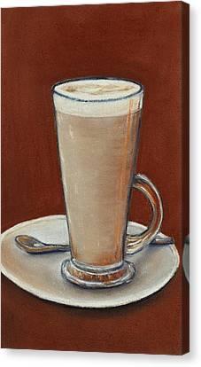 Cappuccino Canvas Print by Anastasiya Malakhova