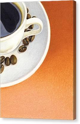 Cappuccino Canvas Print by Natasha Denger