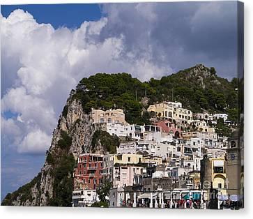 Capri Magic Canvas Print by Brenda Kean