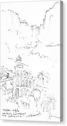 Capri Canvas Print by Valerie Freeman