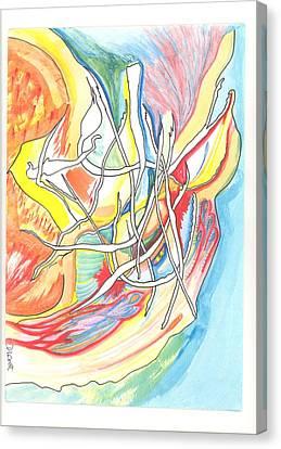 Capricious Canvas Print by Donna Crist