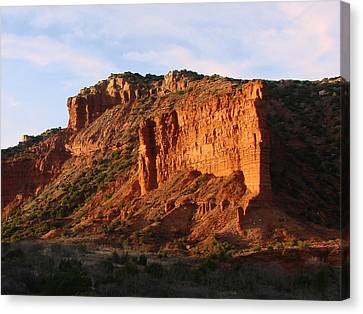 Canvas Print featuring the photograph Caprock Canyon by Linda Cox