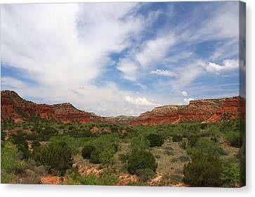 Canvas Print featuring the photograph Caprock Canyons State Park 2 by Elizabeth Budd