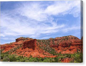 Canvas Print featuring the photograph Caprock Canyons State Park by Elizabeth Budd