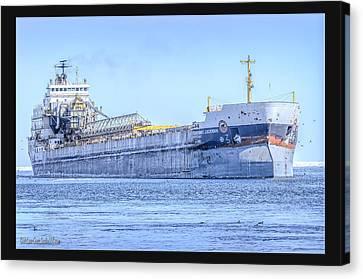 Capt Henry Jackman Vessel Canvas Print