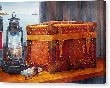 Capt. Murray's Chest Canvas Print by Roger Rockefeller