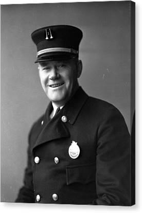 Captain Frank Riley Canvas Print by Retro Images Archive