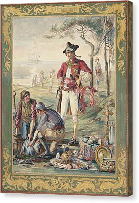 Captain Kidd  Helen Maitland Armstrong Canvas Print by Paul Ashby Antique Paintings