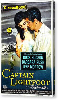 Captain Lightfoot, Us Poster, Barbara Canvas Print by Everett