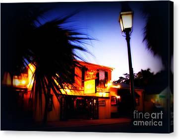 Captain Tony's Bar In Key West Florida Canvas Print