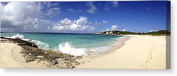 Captain's Bay Panoramic View Canvas Print