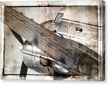 Captain's Flight Canvas Print by Steven Bateson