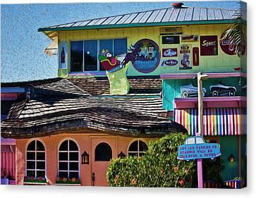 Captiva Beachside Fun Canvas Print