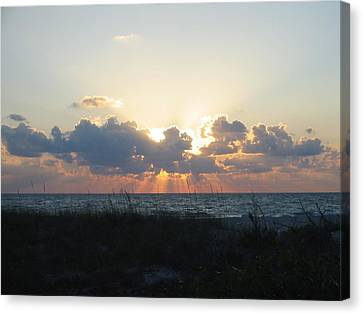 Canvas Print featuring the photograph Captiva Island Fl by Jean Marie Maggi