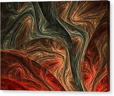 Captivate Canvas Print by Lourry Legarde