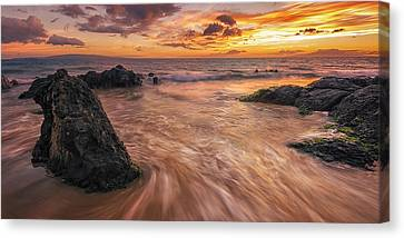 Captivating Kihei Canvas Print by Hawaii  Fine Art Photography