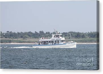 Captree's Captain Gregory Heading Out To Sea Canvas Print