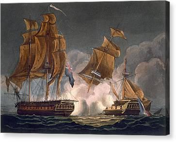 Capture Of La Tribune Canvas Print