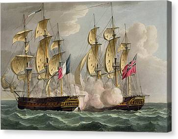 Capture Of Limmortalite Canvas Print by Thomas Whitcombe