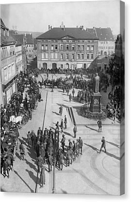 Captured Communists, 1921 Canvas Print by Granger