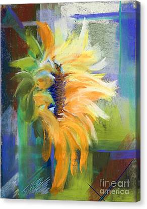 Captured Sunlight Canvas Print by Tracy L Teeter