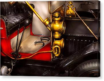 Car - Model T Ford  Canvas Print by Mike Savad