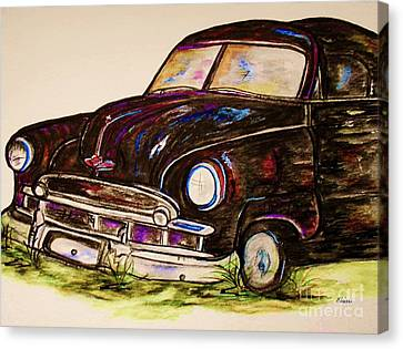 Car Of Character Canvas Print by Eloise Schneider