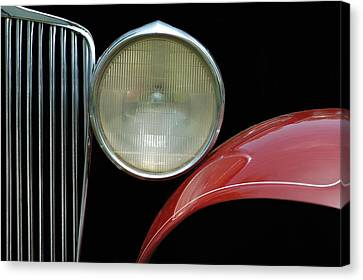 Car Parts Canvas Print by Dan Holm