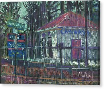 Car Wash Canvas Print by Donald Maier