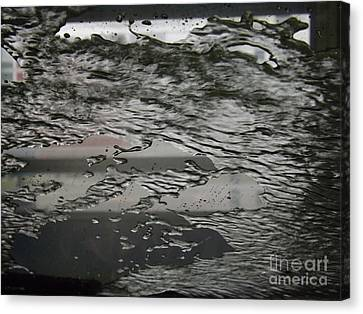 Car Wash Kaleidoscope 7 Canvas Print