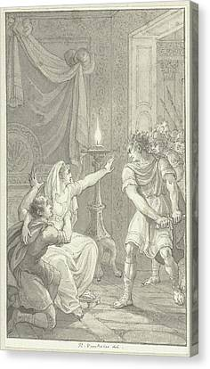 Caracalla Canvas Print - Caracalla Murdered His Brother Geta In The Bedroom by Quint Lox