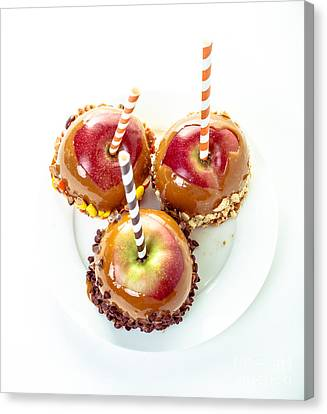 Food Store Canvas Print - Caramel Apples by Edward Fielding