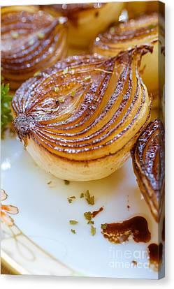 Rich Canvas Print - Caramelized Balsamic Onions by Edward Fielding