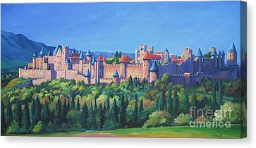 Carcassone   Canvas Print