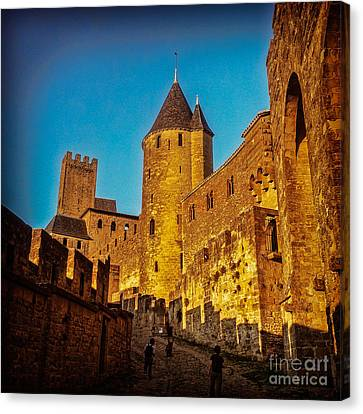 Carcassonne Canvas Print by Colin and Linda McKie