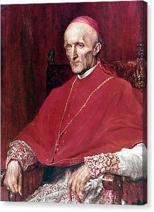 Cardinal Manning (1808-1892) Canvas Print by Granger